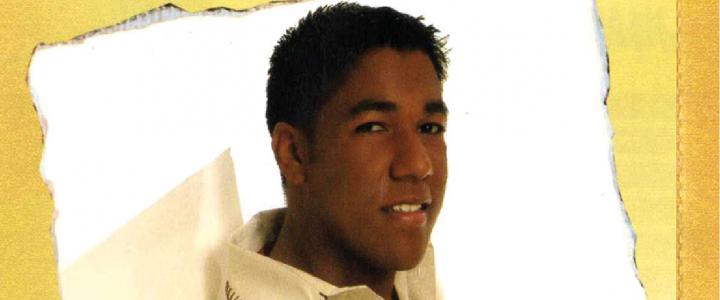 Miguel Morales encontró destrozada la tumba de su hijo Kaleth