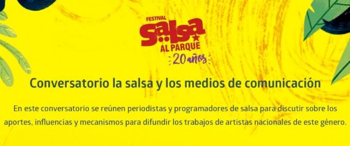 Salsa al Parque, La Previa: Conversatorio la Salsa y los medios de comunicación
