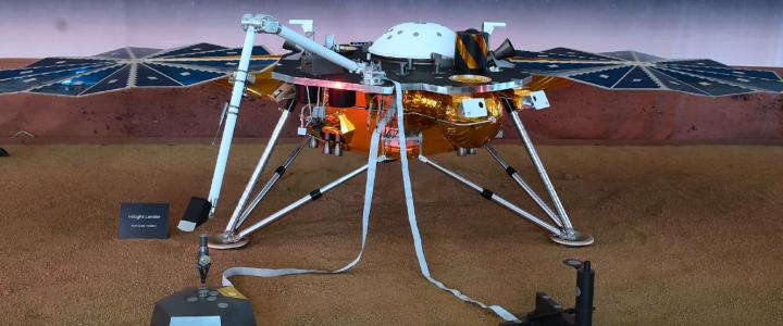 Las primeras imágenes de Marte desde la sonda enviada por la NASA