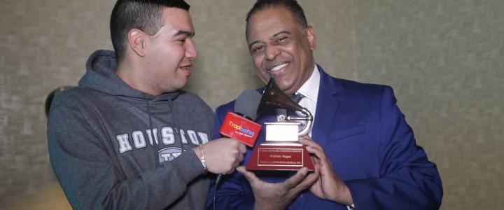 El maestro Wilfrido Vargas habló con Tropicana luego de recibir los primeros Premios en Los Grammy latino