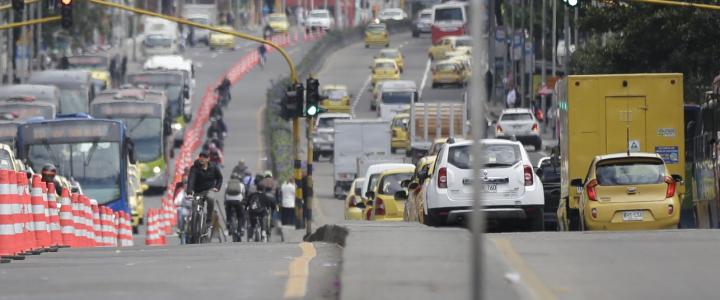 ¿Volverá el 'pico y placa' para particulares en Bogotá?
