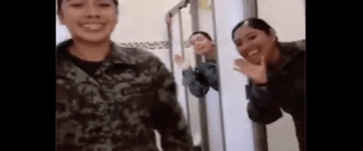El baile en Tik Tok de mujeres de la Guardia Nacional que se volvió viral en redes