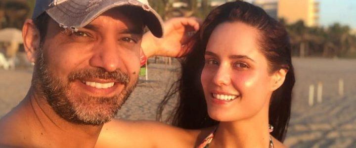 Ana Lucía Domínguez y su esposo cuentan qué hacen al ver las escenas candentes del otro en tv