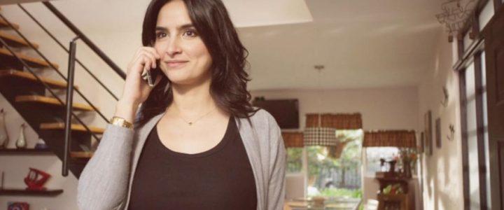 Diana Hoyos teniendo intimidad en candente escena para película de Netflix
