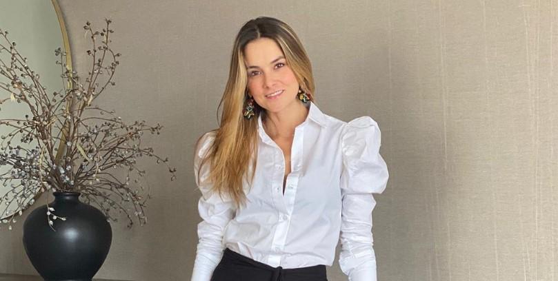 Casa de película la que tiene la presentadora Catalina Gómez
