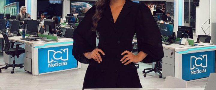Presentadora de Noticias RCN dejó su complejo y mostró sus brazos