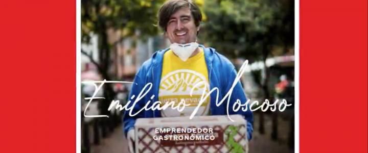 La solidaridad va más rápido que el virus: Emiliano Moscoso, creador de Menú Solidario