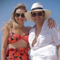 Juan Diego Alvira sorprendió con fotos inéditas de su matrimonio