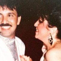 Imágenes poco conocidas de Rafael Orozco y su esposa Clara Cabello