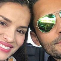 Por no ir al peluquero, Yuly Ferreira trasquiló su esposo Fabián Ríos