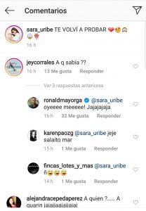 """""""Te volví a probar"""": la publicación de Sara Uribe por la que dicen que volvió con Fredy Guarín"""