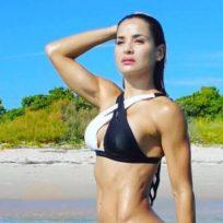 Yuly Ferreira enloqueció a sus seguidores con una sensual rutina de ejercicios