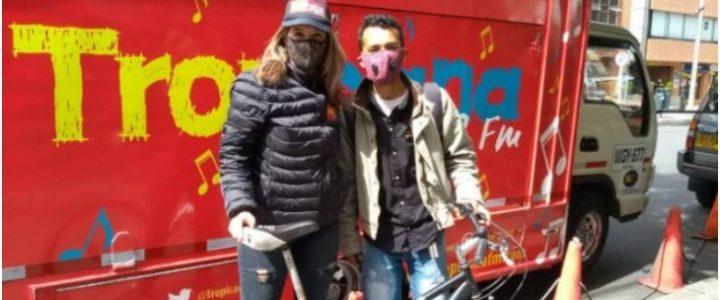 Le donaron una bicicleta a un señor a los que unos ladrones se la habían robado