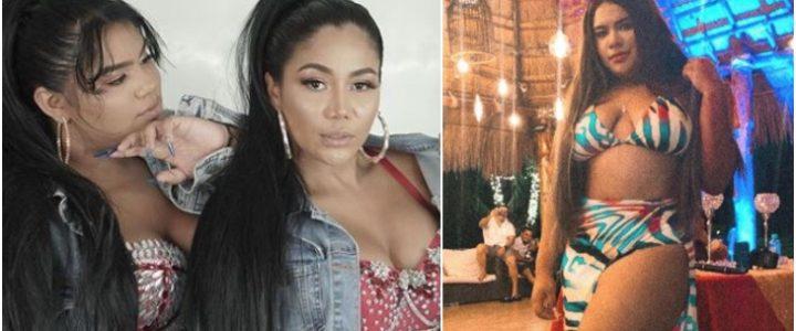 En bikini, hija de Yuranis León mostró cómo quedó tras hacerse cirugía de senos y la lipo