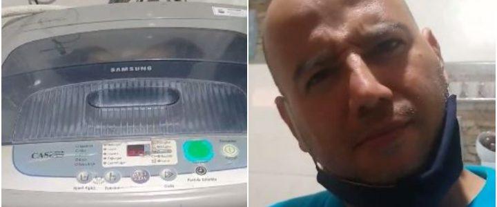 Video: lavadora hace 'gemidos' como si estuviera excitada
