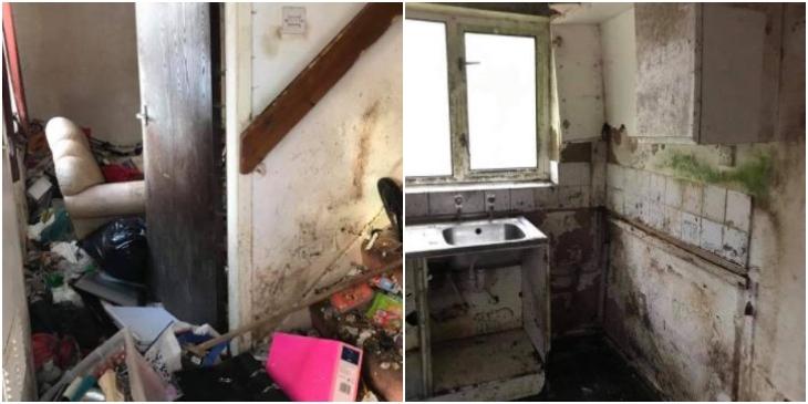 Compraron la casa de un reciclador para transformarla y la dejaron irreconocible