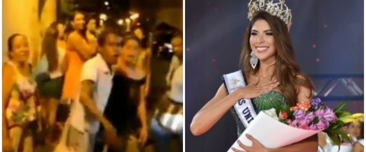 Supuesto video en el insultan a Laura Olascuaga tras coronarse Miss Universe Colombia
