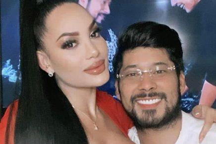 Andrea Valdiri y Lowe León Foto Instagram