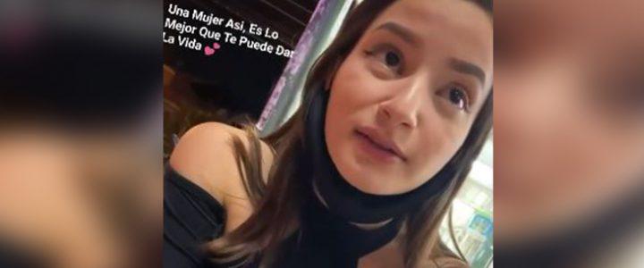 Mujer se volvió viral por aceptar invitación de ir a comer pan con gaseosa