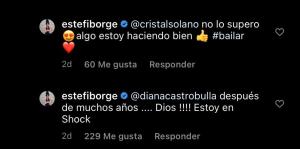 El video de Estefanía Borge bailando en tanga que le comentó hasta Alejandro Sanz