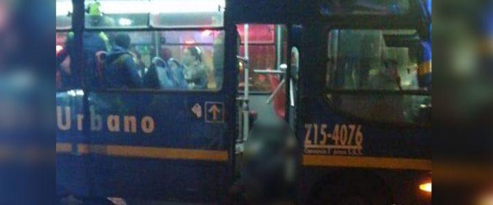 Murió presunto ladrón en medio de un robo en un bus del SITP