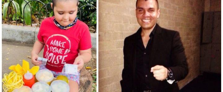 Video: Alzate le compró todos los mangos a un niño que los estaba vendiendo en la calle