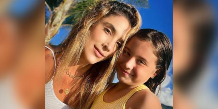 Daniela Ospina y Salomé Foto Instagram