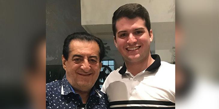 Jorge Oñate y su hijo Foto Instagram