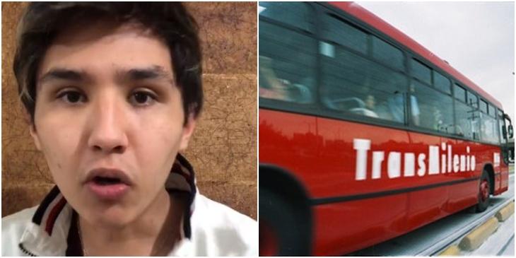 Mexicano se queja del transporte en Colombia _ Foto_ Tik Tok