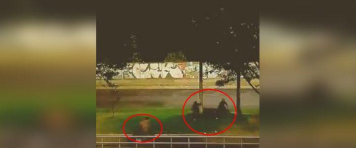 Con varillas y palos: así están robando a los ciclistas en Bogotá