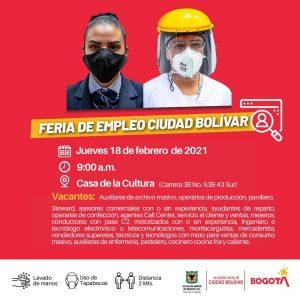 ¿Buscando trabajo? En Ciudad Bolívar abrieron convocatoria