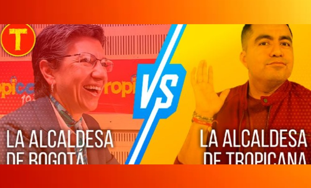 Video: Así fue el esperado encuentro entre Claudia López y la alcaldesa de Tropicana