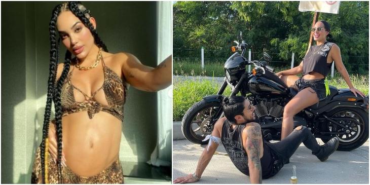 Andrea Valdiri va a regalar la moto que le dio Lowe _ Foto_ Instagram