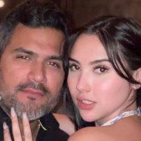 El candente baile Aida Victoria Merlano con su novio en pleno aeropuerto
