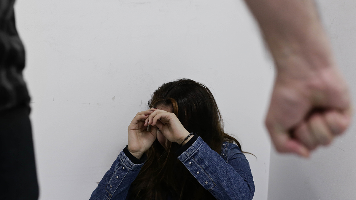 Profesora agredida en clase virtual Foto Colprensa