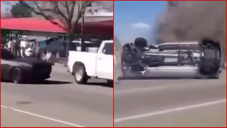Hombre causó fuerte accidente al tratar de presumir sus habilidades para conducir
