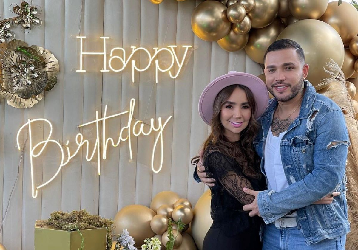 Paola Jara llegó a sus 38 años y los festejó con tremenda fiesta