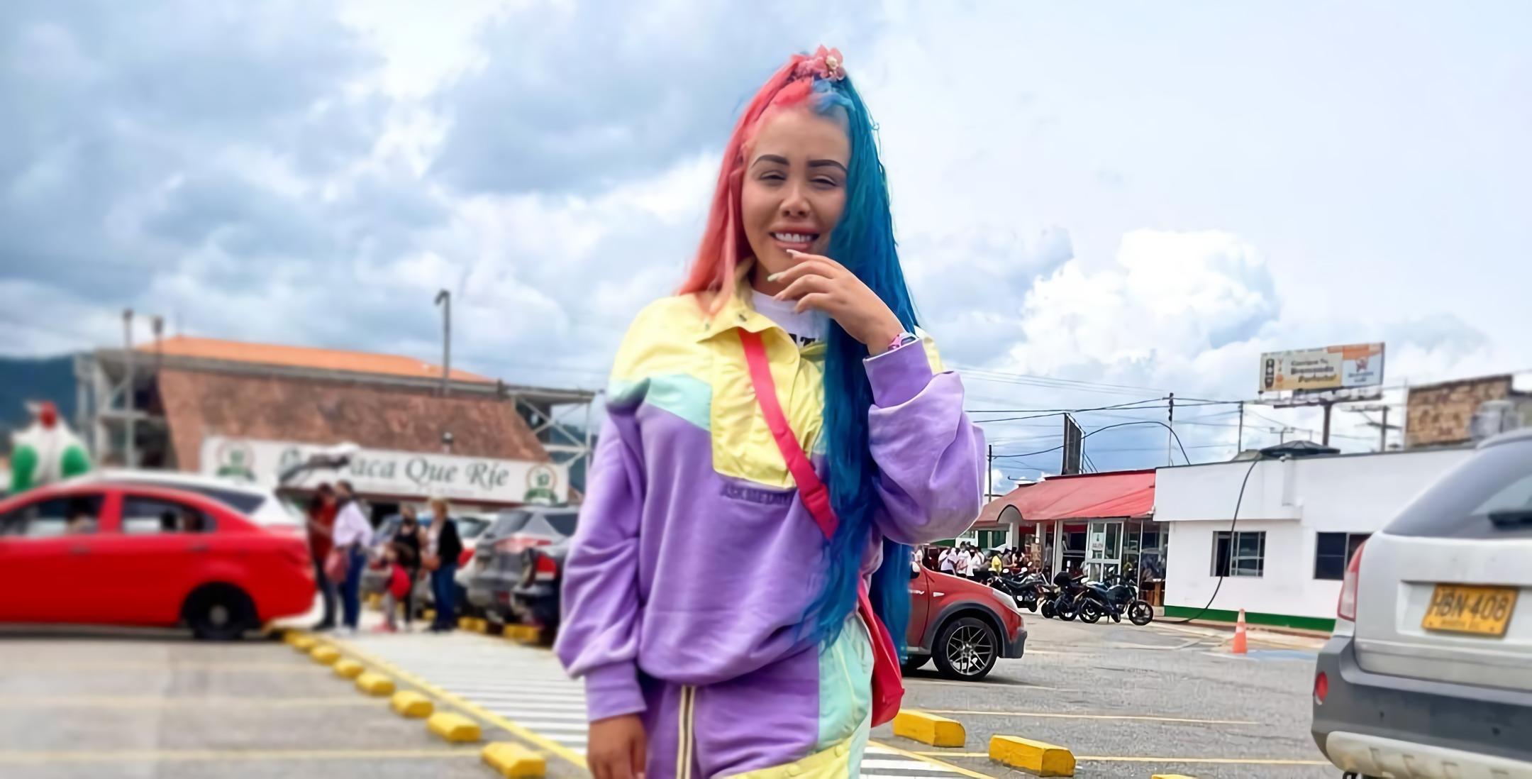 Yina Calderón mostró su nuevo look