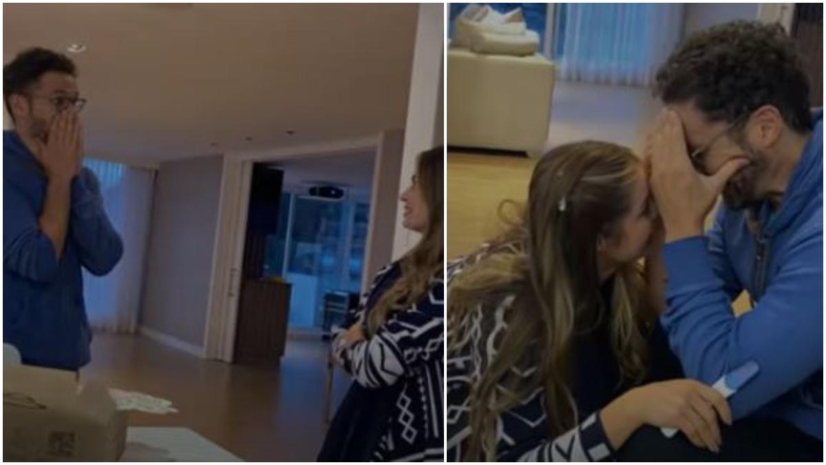Josse Narváez se entera del embarazo de Cristina Hurtado _ Foto_ YouTube