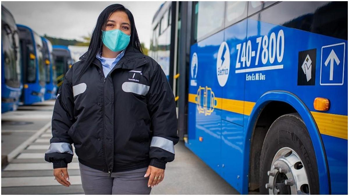 Mujeres conductoras SITP TransMilenio _ Foto_ Alcaldia