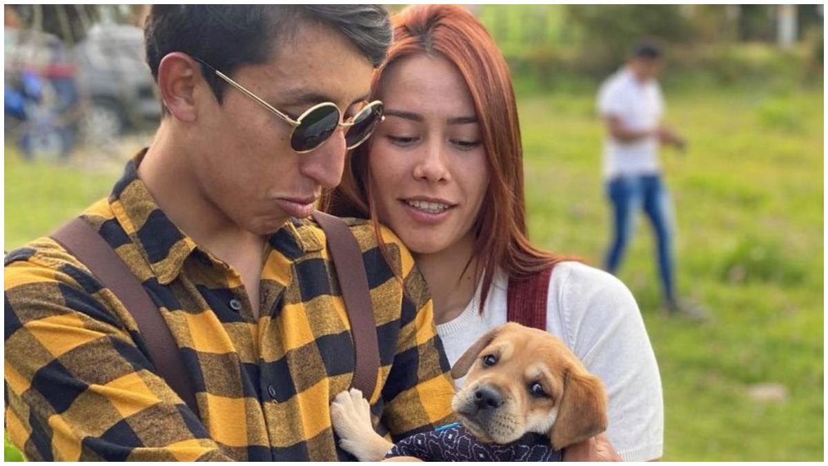 Murió envenenado el perro de Egan Bernal _ Foto_ Instagram