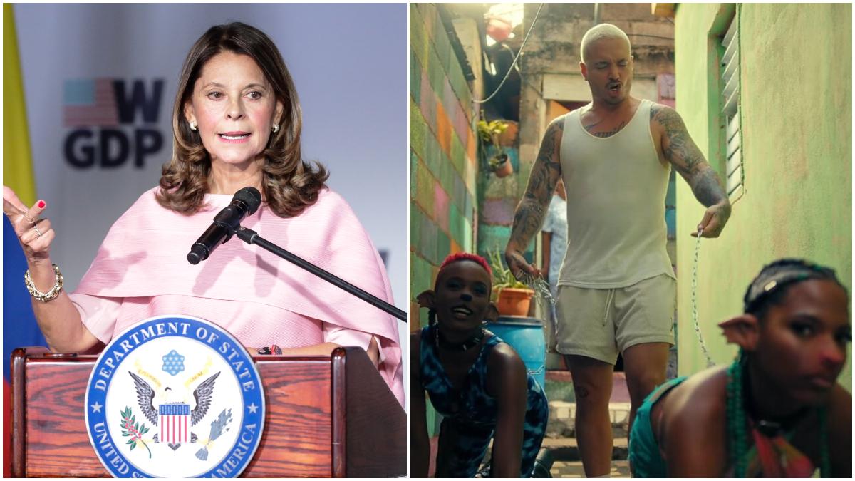 "En carta abierta, vicepresidenta Martha L. Ramírez criticó la canción  ""Perra"" de J Balvin"
