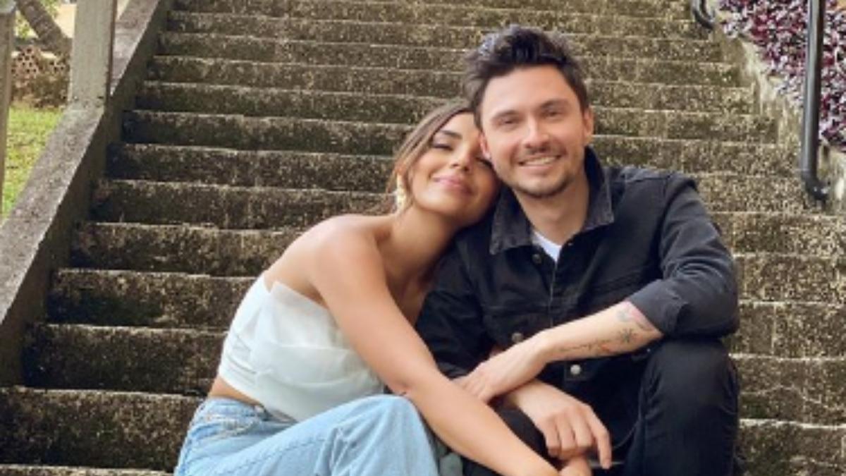 Diego Saenz y Laura Barjum derriten las redes sociales con románticas fotos