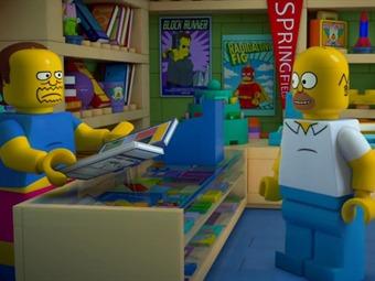 Episodio 550 de Los Simpson fue en versión Lego (Video)
