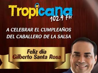 Cancion Feliz Cumpleanos Salsa.Feliz Cumpleanos Gilberto Santa Rosa Tropicana Bogota