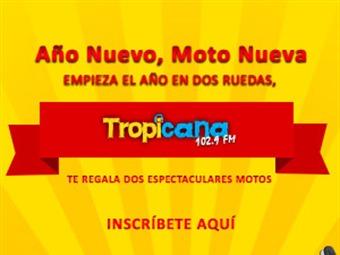 Año nuevo, moto nueva, Tropicana te pone a estrenar moto