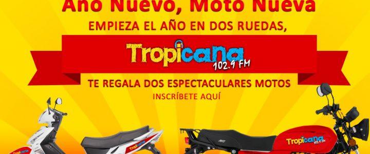 año nuevo moto nueva tropicana