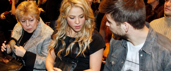 78b4104c1 Shakira en su tercer embarazo