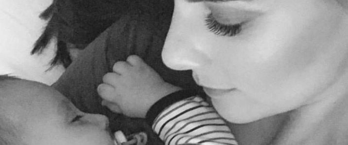 El tatuaje de Carolina Cruz en honor a Matías, su bebé