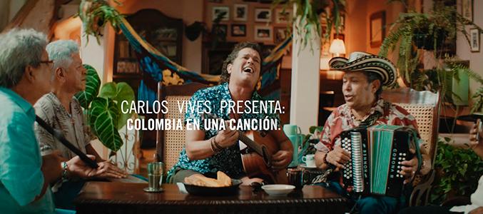"""""""Colombia en una canción"""" el nuevo documental de Carlos Vives ¡Míralo aquí completo!"""